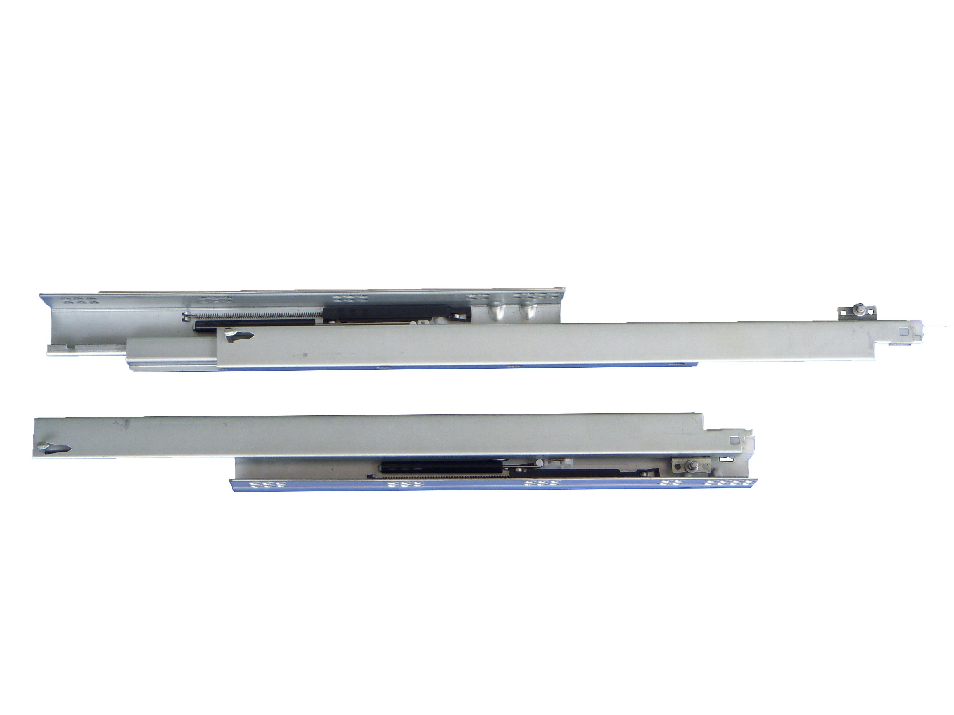 Concealed soft-closing drawer slide